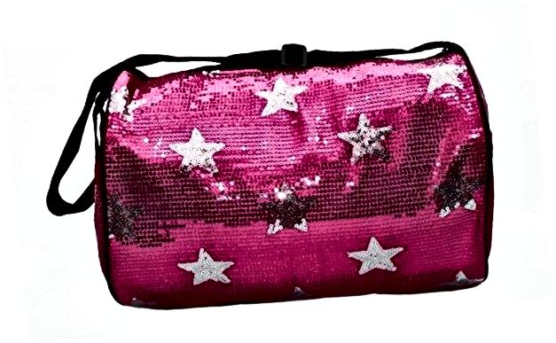 Djevojka Dance Duffle Sequin Star Bag