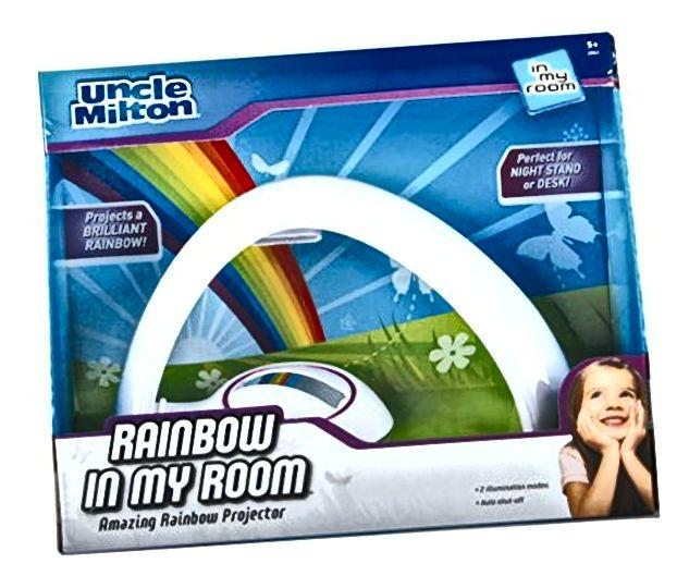 Projektor Rainbow u mojoj sobi za noćno osvjetljenje