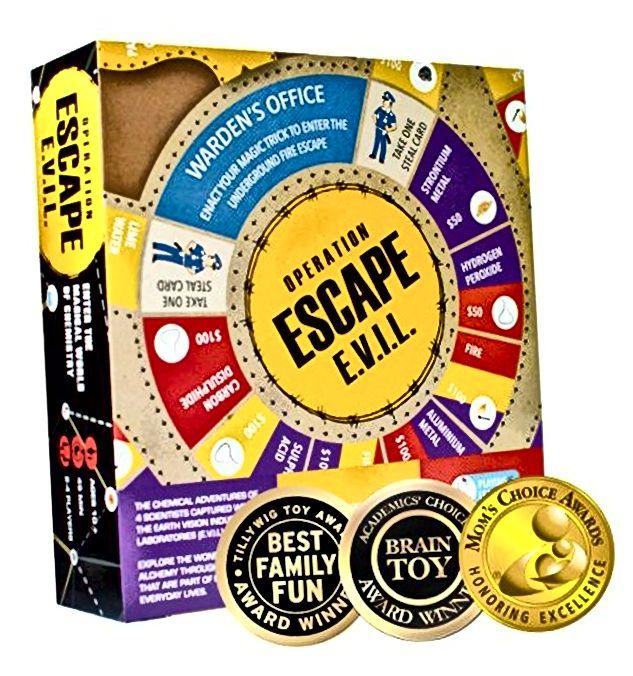 Kitki ESCAPE EVIL Zabavna igra na edukativnoj ploči