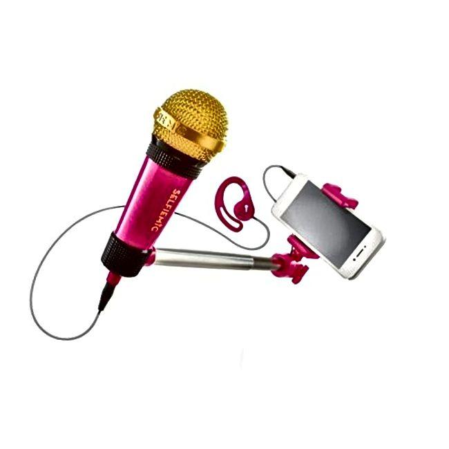 SelfieMic Selfie Stick mikrofon