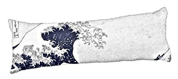 Veliki val s Kanagawe, jastuk za tijelo Katsushika Hokusai