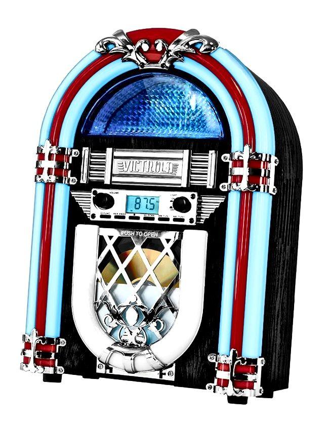 Victrola Retro Desktop Jukebox s CD uređajem