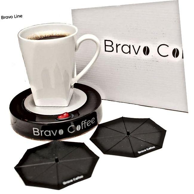 Električna osobna šalica za kavu Topliji