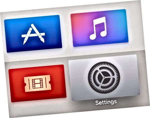 Ažurirajte aplikacije na Apple TV-u