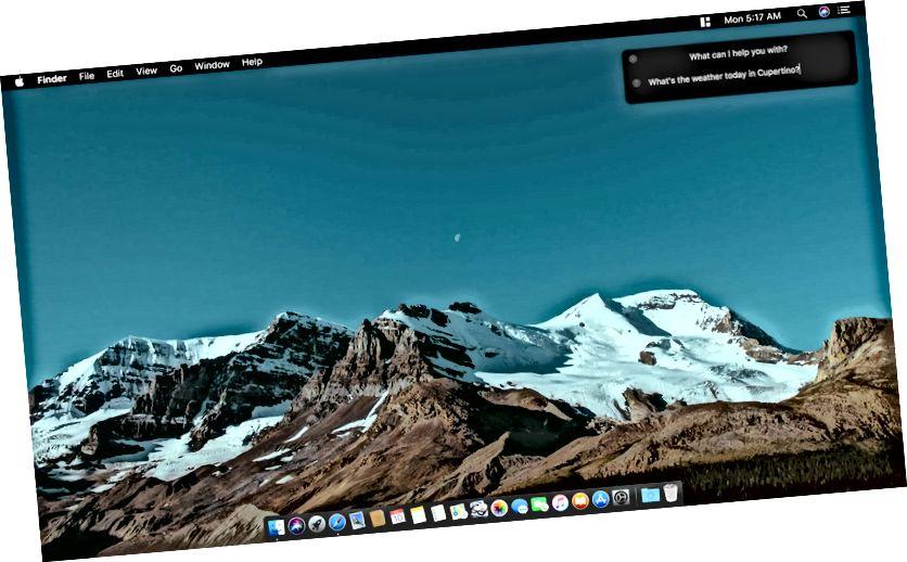 Skrifaðu til Siri Mac