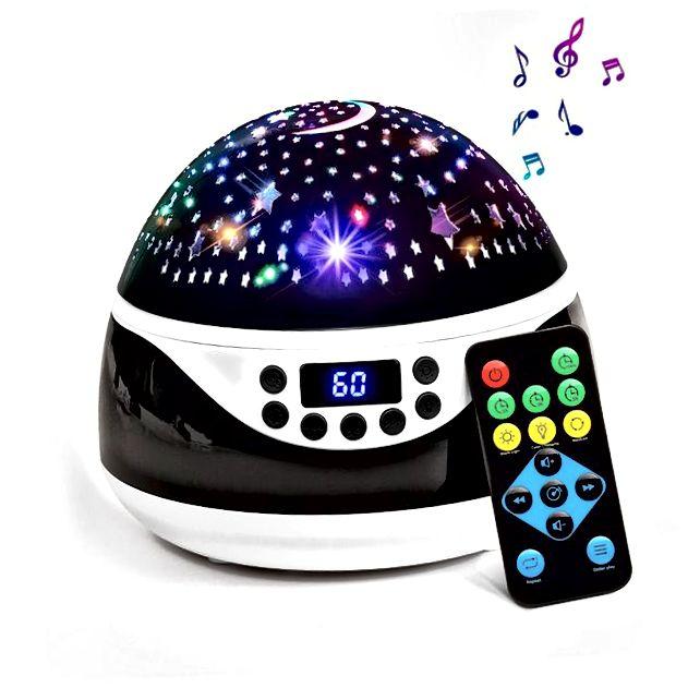 AnanBros Star projektor s glazbenim uređajem