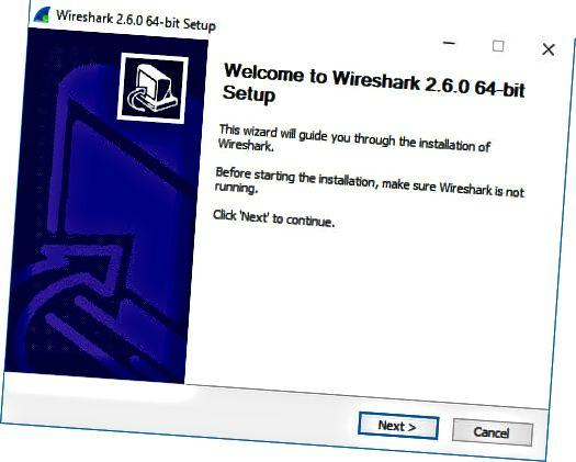 Wireshark Windows Installateur