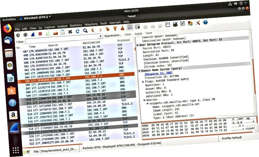 Wireshark Packet Info
