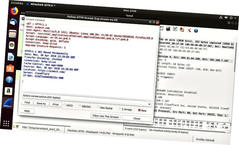 Wireshark Follow Packet