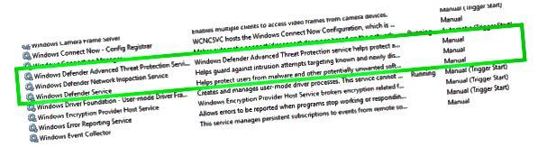 Antimalware Service Executable تسبب ارتفاع استخدام CPU-2