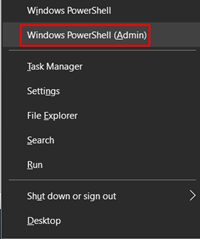Windows powerhell