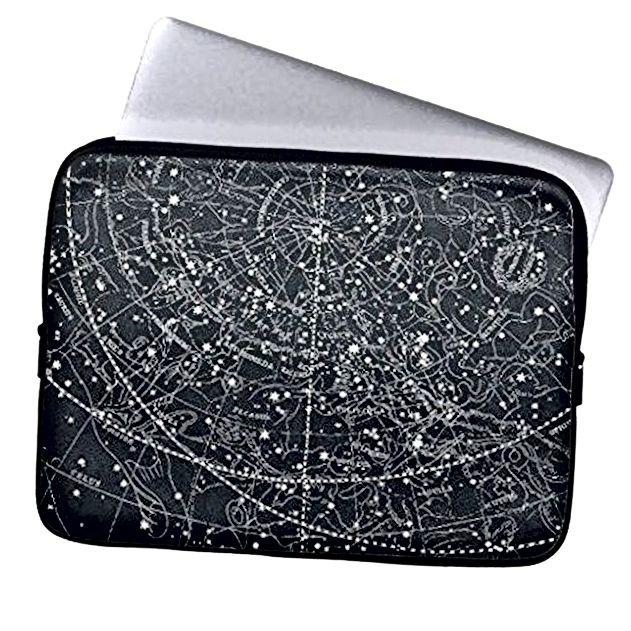 Vintage ručni laptop od neoprena s mapom zviježđa