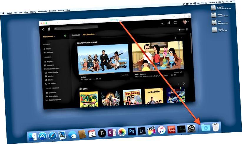 lägg till webbplats till mac dock