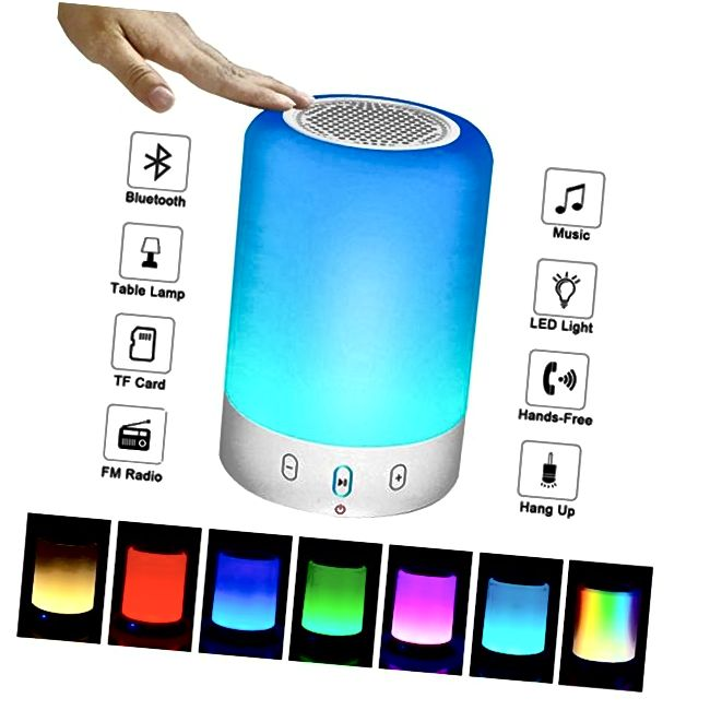 LED Light Bluetooth Stereo Subwoofer