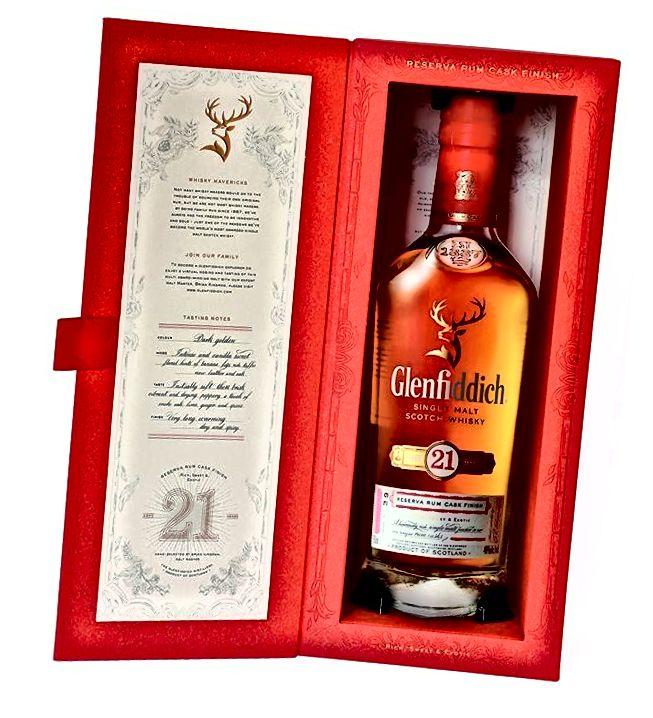 Glenfiddich 21 Jahre alter Scotch Whisky