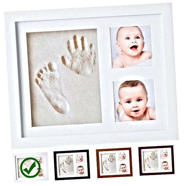 Kleines Hippo Baby Handabdruck-Kit