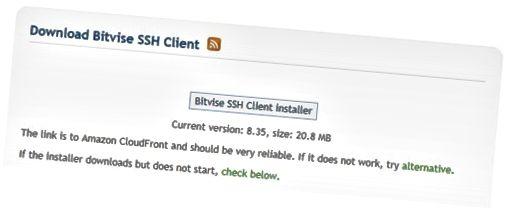Update Bitvise