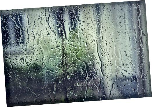 صوت مطر مطر