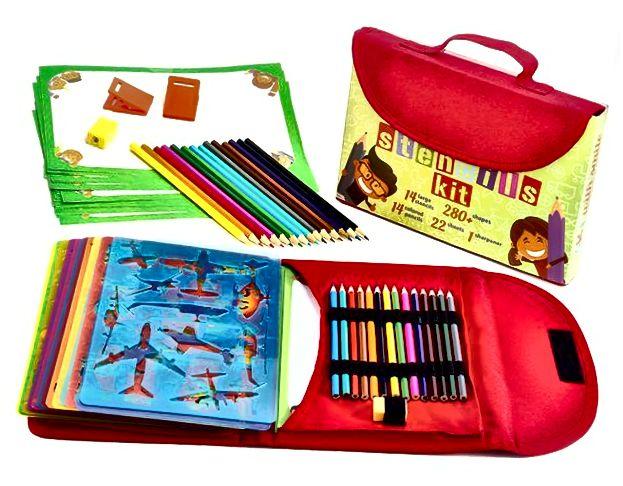 Komplet za crtanje šablona za djecu