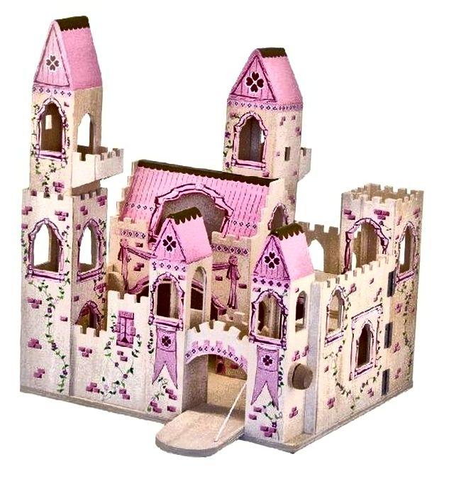 Melissa & Doug sklopivi dvorac princeza