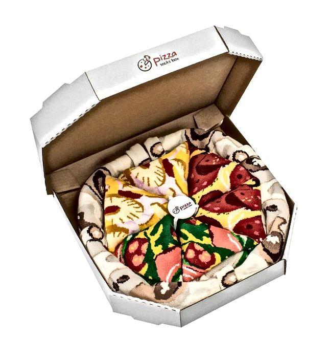 Kutija čarape za pizzu