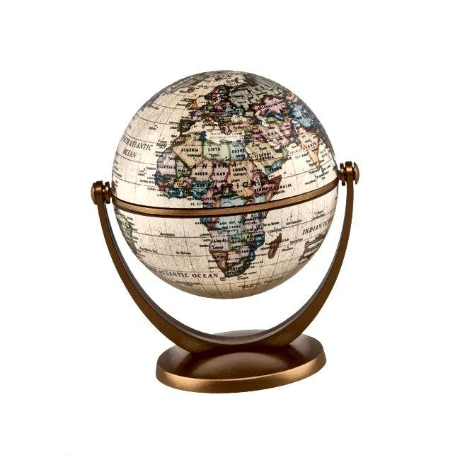 Stella Nova Politesch Antik Ozean Swivel an Tilt Globe