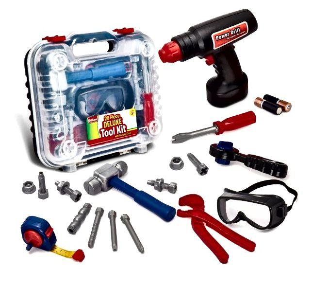 Dječji građevinski alati cool igračke za dječaka u dobi od tri godine