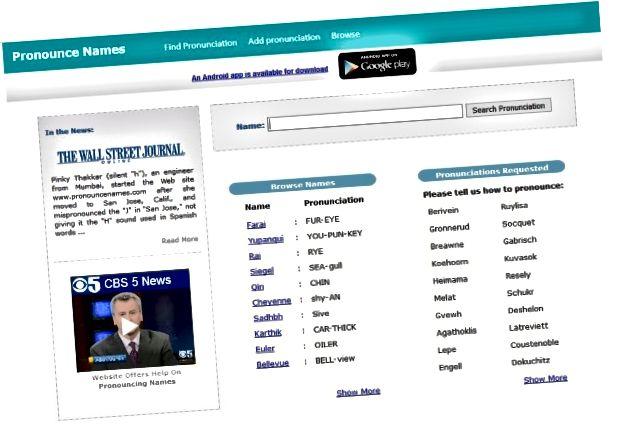Fem webbplatser för att hjälpa dig att uttala namn korrekt-2