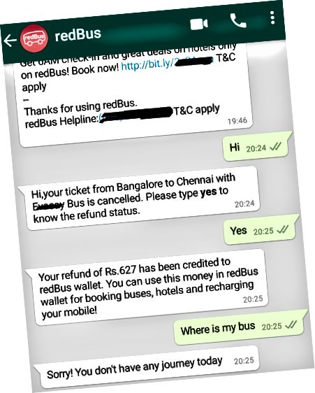 Whatsapp Bot ilə istifadəçi qarşılıqlılığı
