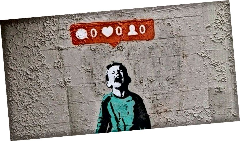 Instagram Jong - Banksy