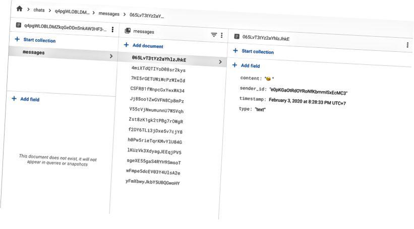 Dataskinka för chattskärm