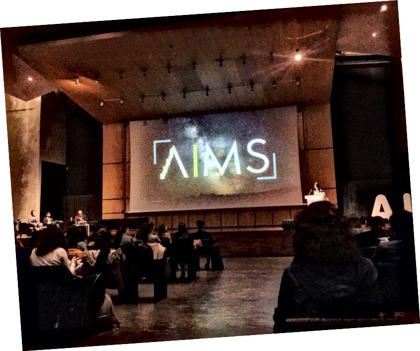 Адкрыццё 9-га пасяджэння AIMS, 16. сакавіка 2018 г.