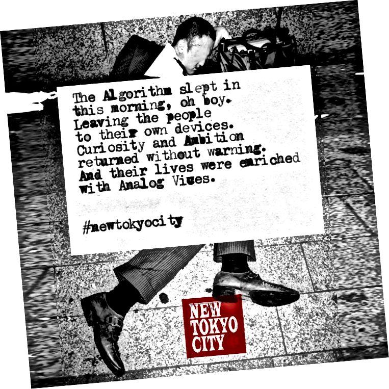 Objavite putem Instagrama New Tokyo City