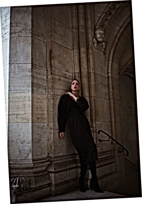 Jen trägt das Stevie-Kleid, Foto von: Romar Ferry