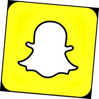 Snapchat logotips
