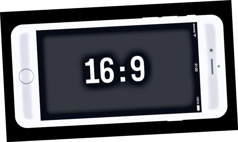 Bildformat 16: 9