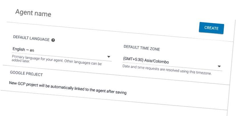 Geben Sie Ihrem Agenten einen Namen und wählen Sie die richtige Zeitzone