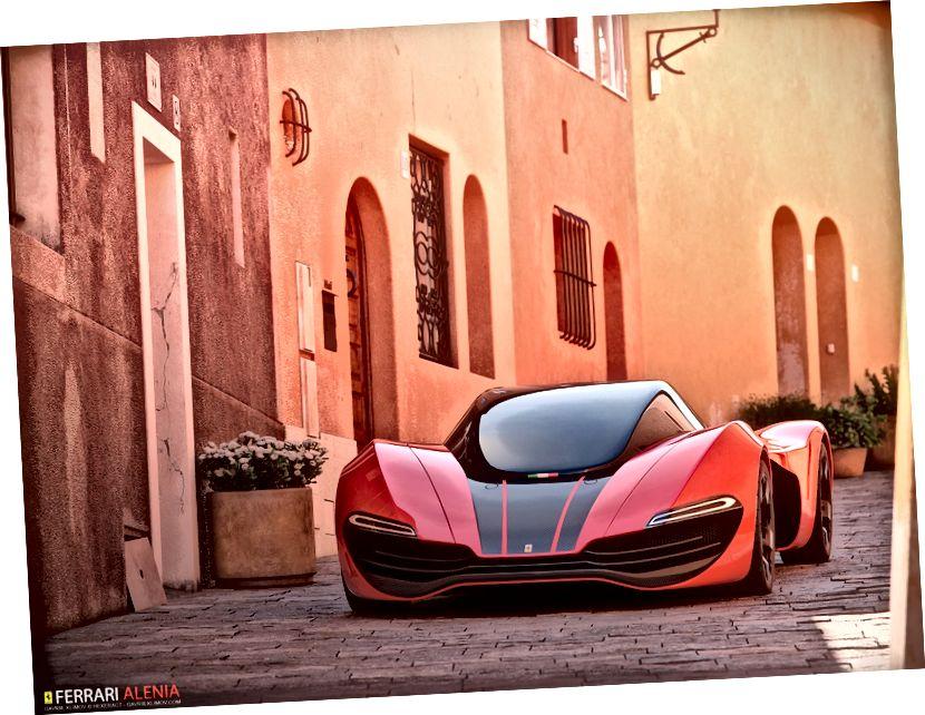 Ferrari Alenia: Concept Car