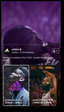 Iz Adidasovih Instagram priča