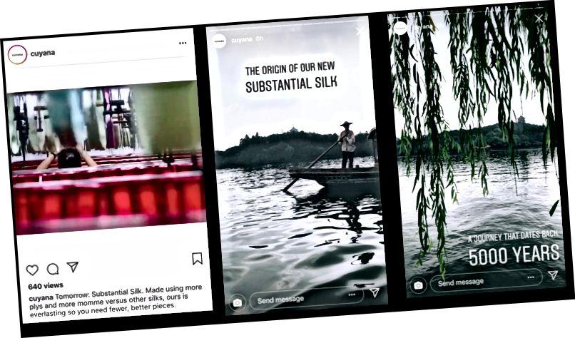 Iz Cuyana-ovih Instagram priča