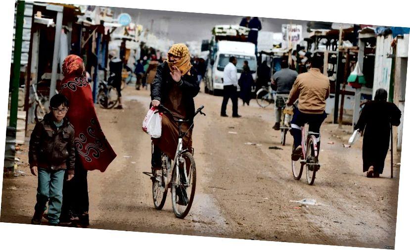 U Zaatarskom izbjegličkom kampu u Jordanu dom je na desetine tisuća Sirijaca. VOA