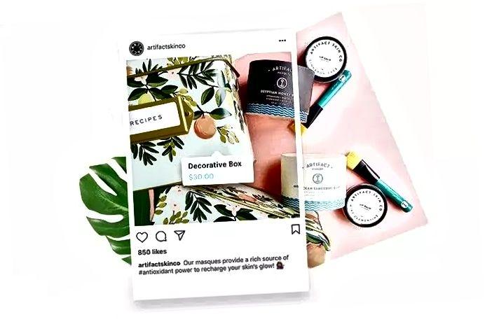 Sälj produkter online med Instagram-shopping