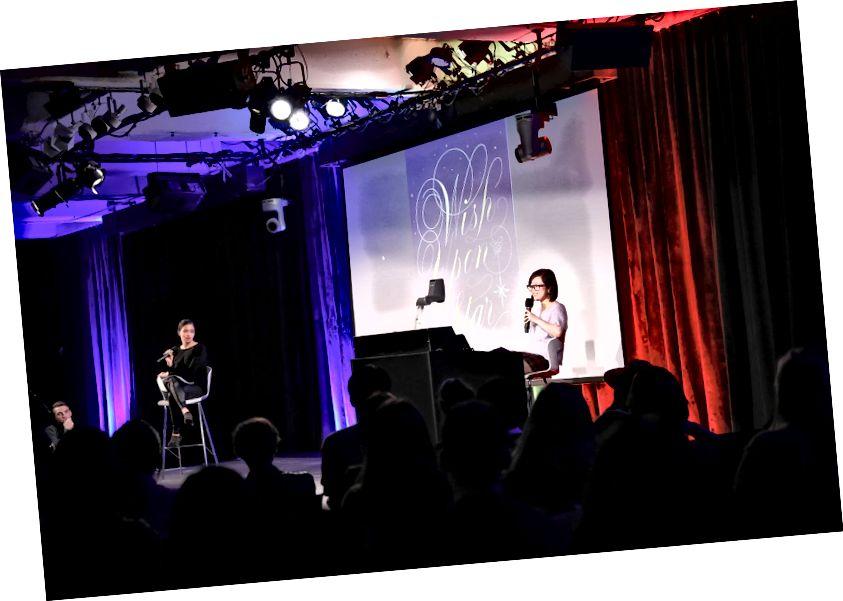 Кара дыскутавала з Мішэлем наконт свайго надпіснага праекта ў GoogleNYC