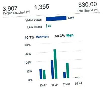 Analytics za Facebook Advertisement