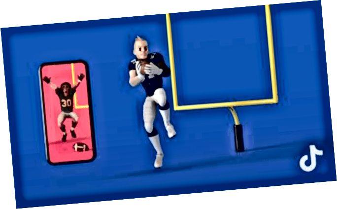 SportsManias spojen s Tikom Tokom radi uvođenja animiranih naljepnica s temeljenom stvarnošću (AR) temeljenih na NFL-u na vrijeme za Super Bowl - Izvor: TechCrunch