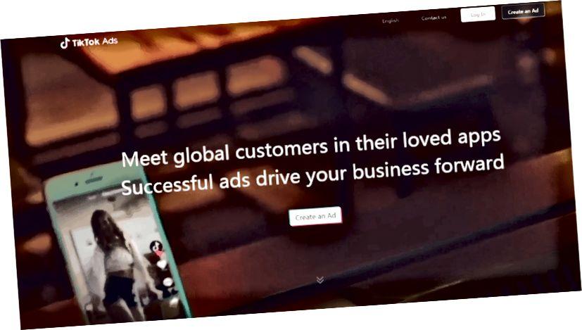 TikTok već ima nekoliko sjajnih opcija oglašavanja - Izvor: TikTok