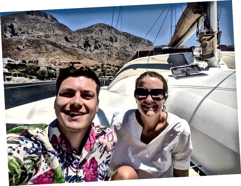 الاستمتاع بالإبحار حول جزر دوديكانيز (أموال تنفق بشكل جيد)