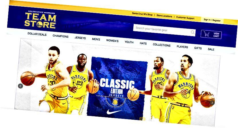 Web trgovina The Golden State Warriors Merchandise