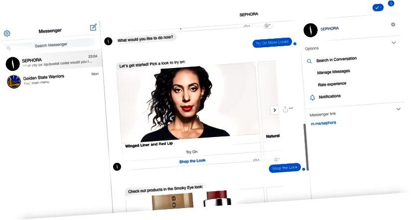 Sephora assistendiga proovimiseks pilk