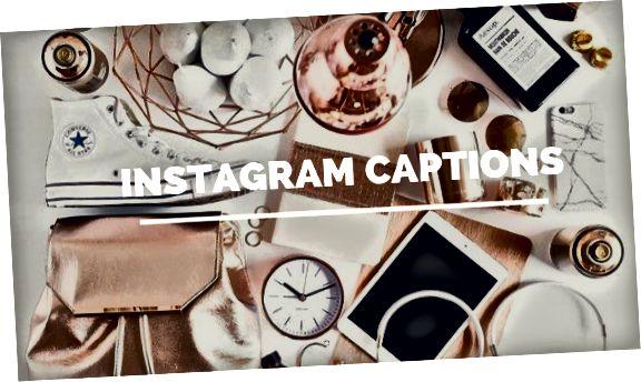 Instagram-bildtexter Tips